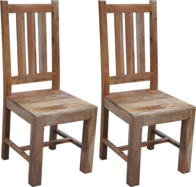 Jaipur Dakota Light Mango Dining Chair (Pair)