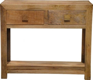 Jaipur Furniture Dakota Light Console Table - 2 Drawers