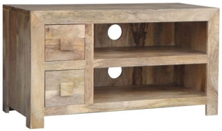 Jaipur Furniture Dakota Light Plazma TV Unit - 2 Drawer