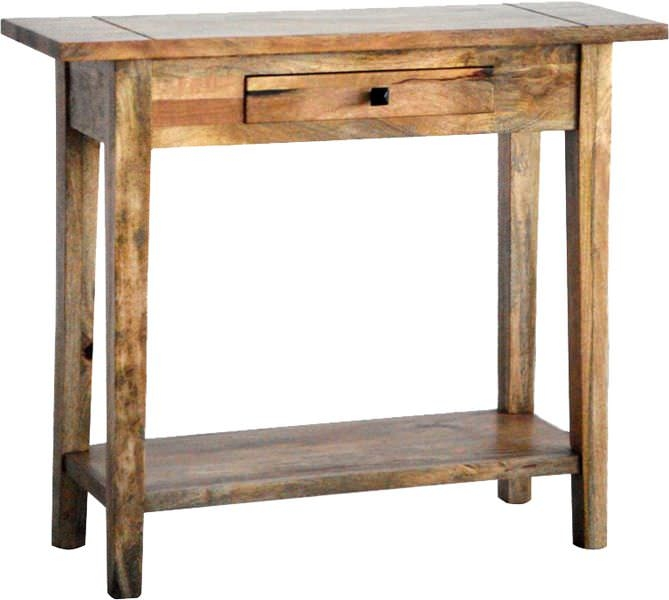 Jaipur Furniture Dakota Light Azara Console Table - 1 Drawer