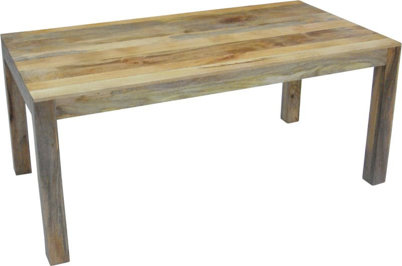 Jaipur Dakota Light Mango Wood Dining Table - 175cm