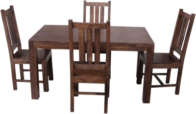 Jaipur Dakota Walnut Mango Wood Dining Table