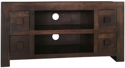 Jaipur Dakota Walnut Mango Wood Plazma TV Unit