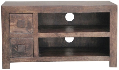 Jaipur Dakota Walnut Mango Small Plazma TV Unit