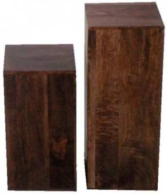 Jaipur Dakota Walnut Mango Lamp Table (Set of 2)