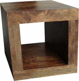 Jaipur Furniture Dakota Walnut 1 Hole Display Unit