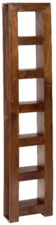 Jaipur Furniture Dakota Walnut 6 Hole DVD Holder