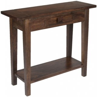 Jaipur Furniture Dakota Walnut Azara Console Table - 1 Drawer