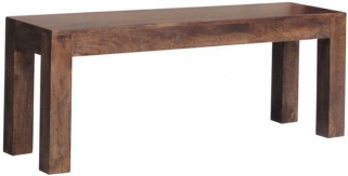 Jaipur Furniture Dakota Walnut Bench Small
