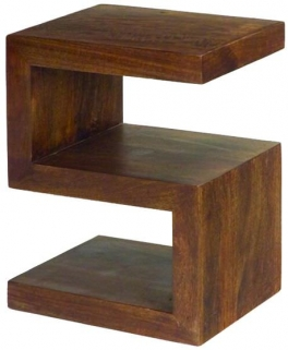 Jaipur Furniture Dakota Walnut S Cube Shelf