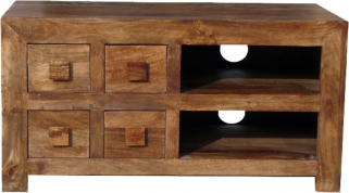 Jaipur Furniture Dakota Walnut TV Unit - 4 Drawer