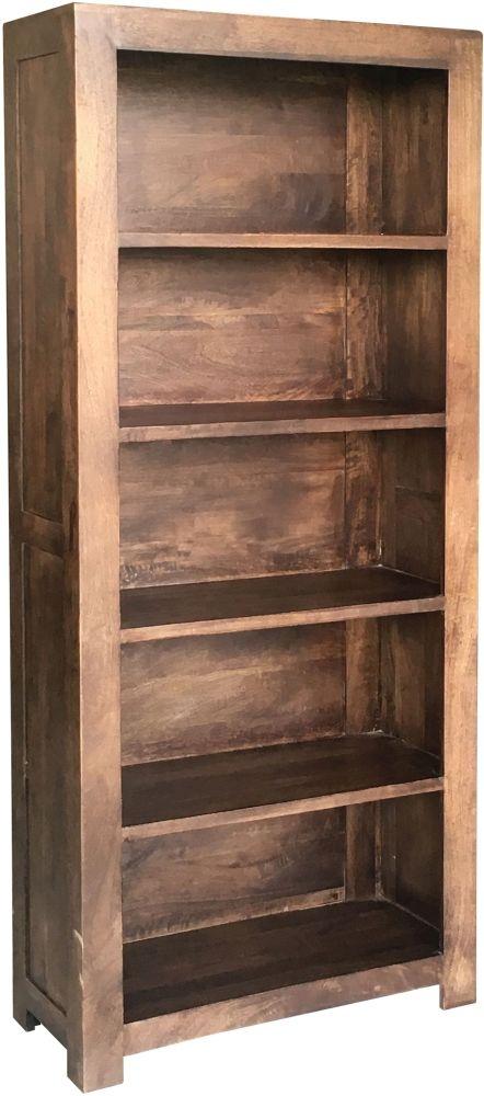 Jaipur Dakota Walnut Mango Wood Bookcase
