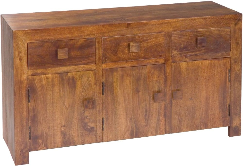 Jaipur Dakota Walnut Mango Wood Large Sideboard