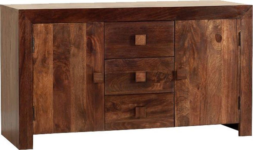 Jaipur Dakota Walnut Mango Wood Medium Sideboard