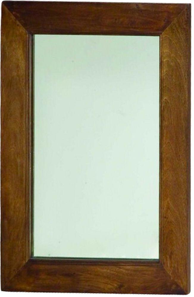 Jaipur Dakota Walnut Mango Wood Rectangular Mirror