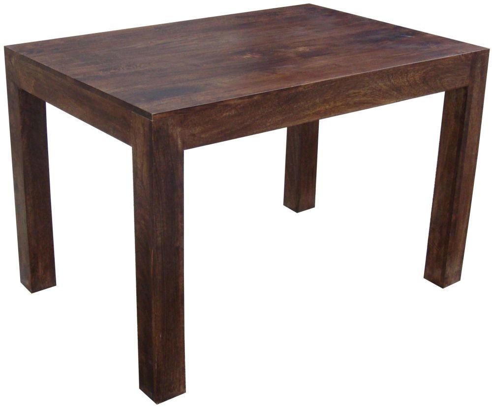 Jaipur Dakota Walnut Mango Wood Dining Table - 120cm