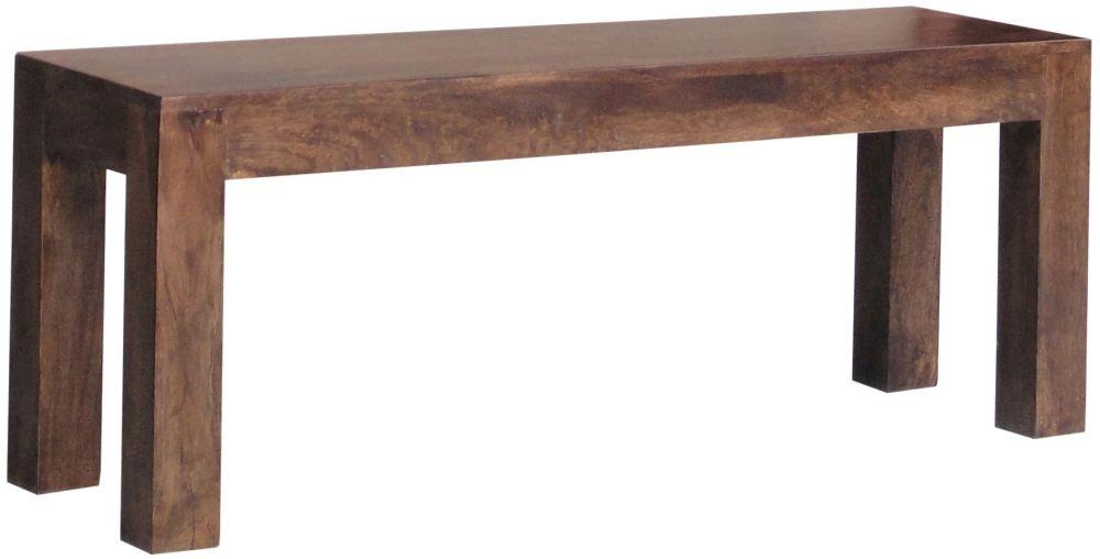 Jaipur Dakota Walnut Mango Wood Large Bench
