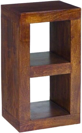 Jaipur Furniture Dakota Walnut 2 Hole Display Unit