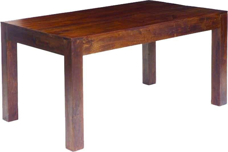 Furniture Table Jaipur Dakota Walnut Mango Wood Dining