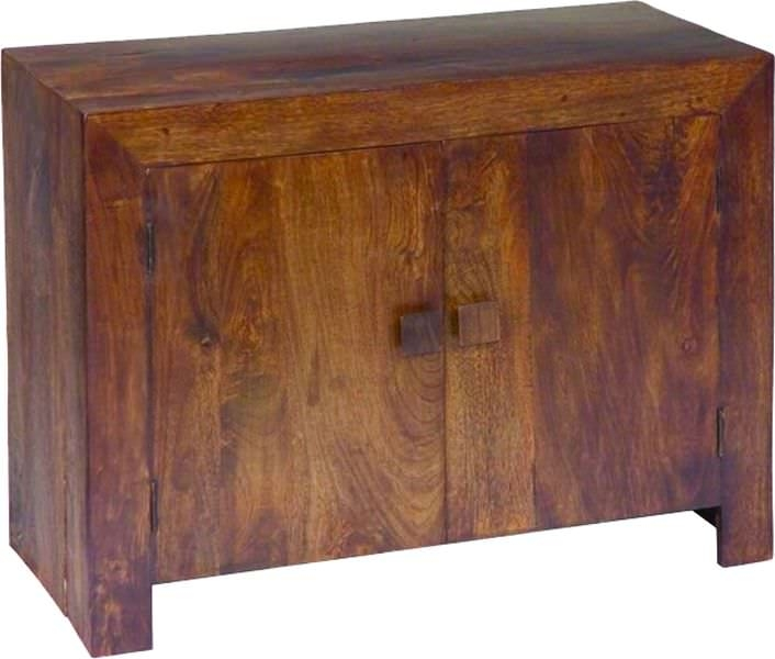Jaipur Dakota Walnut Mango Wood Sideboard - Small 2 Door