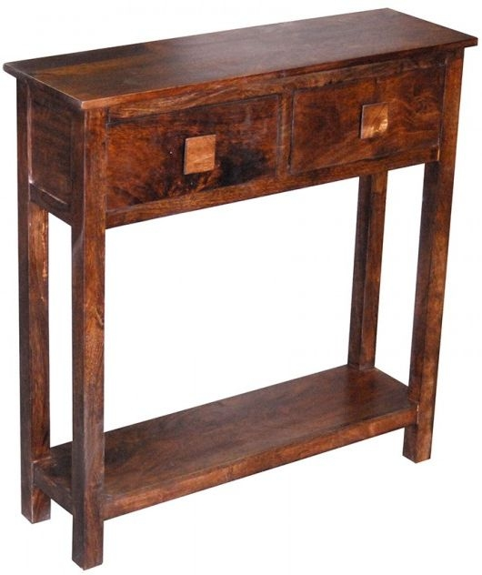 Jaipur Dakota Walnut Mango Mini Medium Console Table