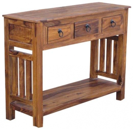 Jaipur Furniture Console Table 3 Drawers Jaipur Furniture