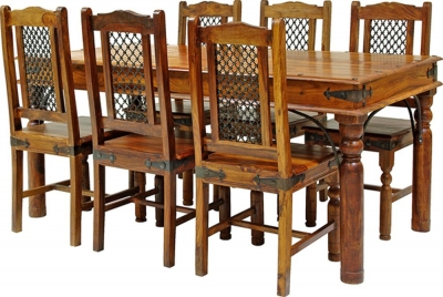 Jaipur Ganga Sheesham Extra Large Dining Table