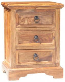 Jaipur Furniture Bedside Table - 3 Drawers