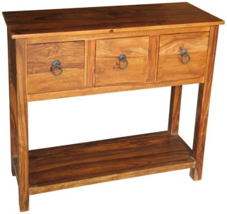 Jaipur Furniture Ganga Console Table - 3 Drawers