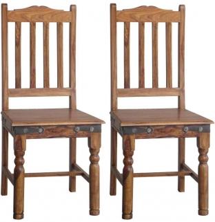 Jaipur Ganga Sheesham Fanti Dining Chair (Pair)