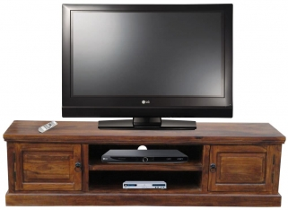 Jaipur Furniture Ganga Plazma TV Cabinet - Medium 2 Doors