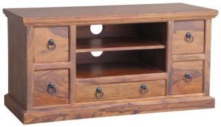 Jaipur Furniture Ganga Plazma TV Unit - 5 Drawers