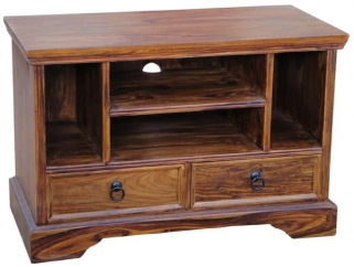 Jaipur Furniture Ganga TV Unit - Small 2 Drawers