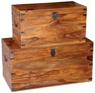 Jaipur Furniture Long Trunk - Set of 2