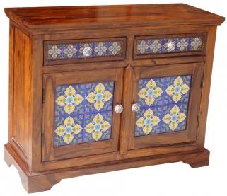 Jaipur Furniture Sideboard - Small Tile 2 Doors 2 Drawers