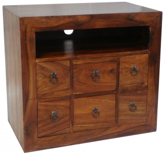 Jaipur Furniture TV Unit - 6 Drawers