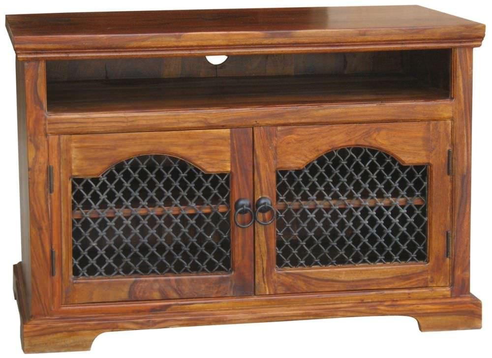 Jaipur Furniture Badroon Jali Tv Unit 2 Doors Jaipur Furniture