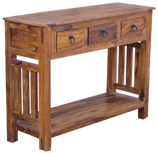 Jaipur Furniture Console Table - 3 Drawers