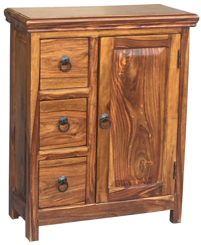 Jaipur Ganga Sheesham Small Cabinet