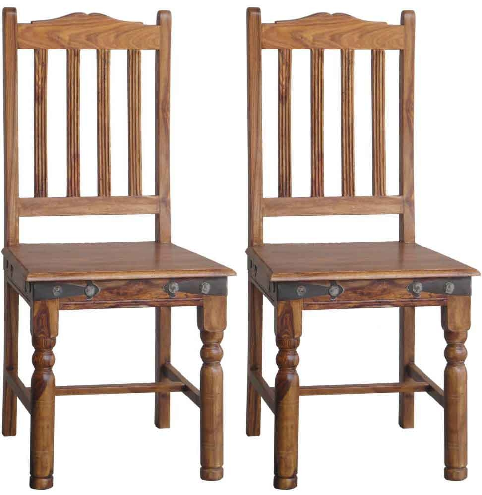 Jaipur Furniture Ganga Fanti Dining Chair (Pair)
