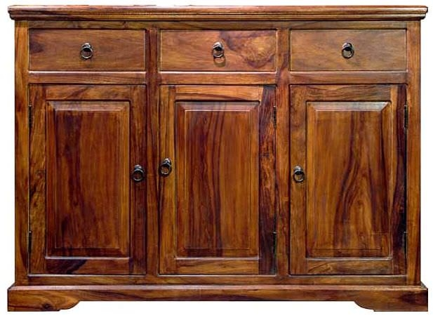 Jaipur Furniture Ganga Sideboard - 3 Doors 3 Drawers