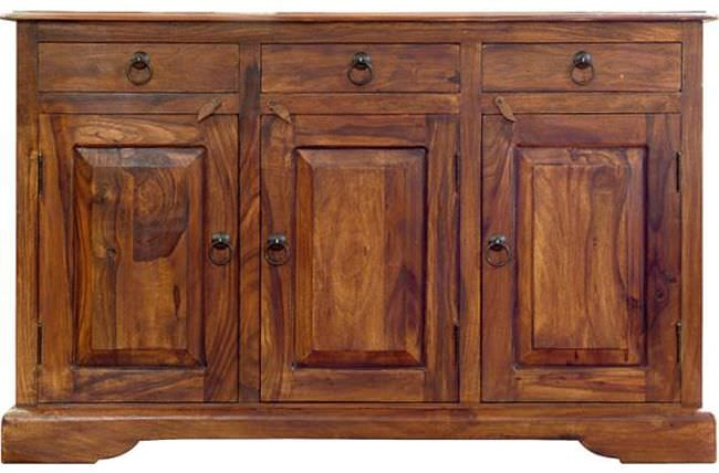 Jaipur Ganga Sheesham Sideboard - 3 Drawer 3 Door