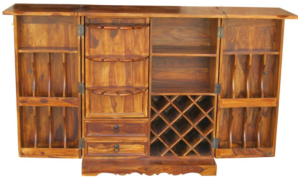 Buy Jaipur Furniture Ganga Wooden Bar Large Online Cfs Uk