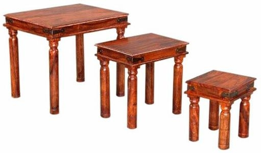 Jaipur Furniture Nesting Table - Set of 3