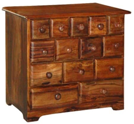 Jaipur Furniture Ramgarh Cabinet - Small 14 Drawers