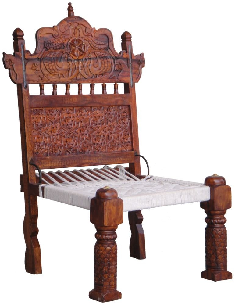 Jaipur Furniture Shekhawati Chair - High Leg