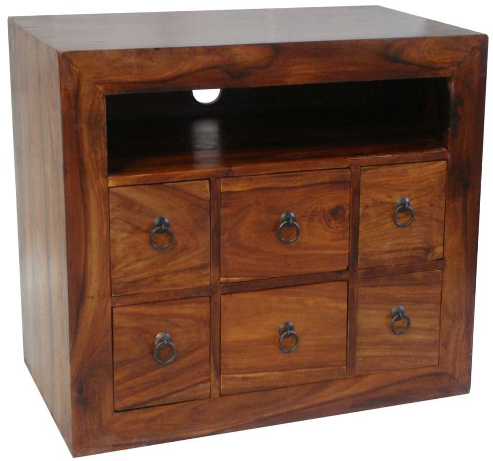 Buy Jaipur Furniture Tv Unit 6 Drawers Online Cfs Uk