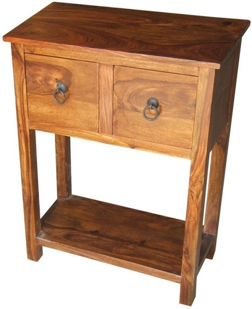 Jaipur Ganga Sheesham Small Console Table