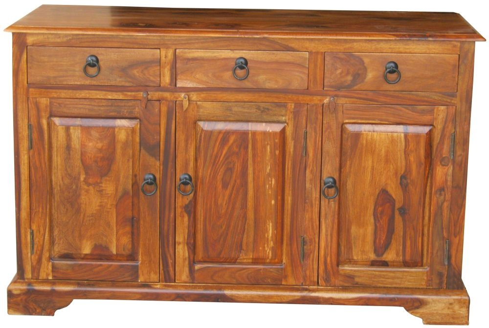 Jaipur Ganga Sheesham 3 Door 3 Drawer Sideboard