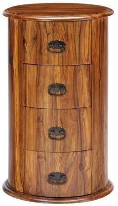Jaipur Ganga Sheesham 4 Drawer Drum Chest